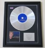 BARRY MANILOW - The Best Of barry Manilow Music & Passion CD / LP PLATINUM PRESENTATION DISC